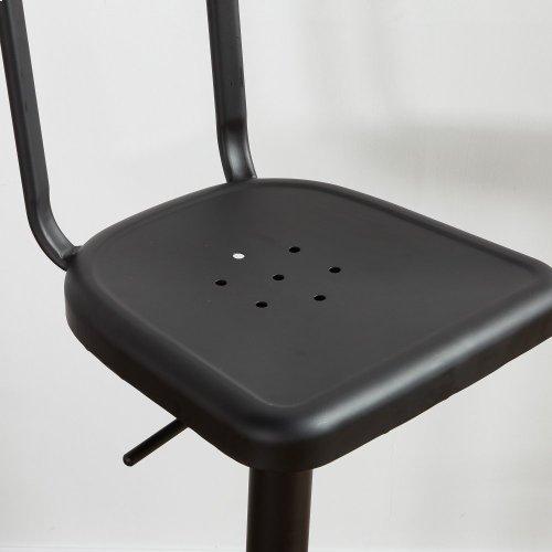 Haines Adjustable Stool in Black, 2pk