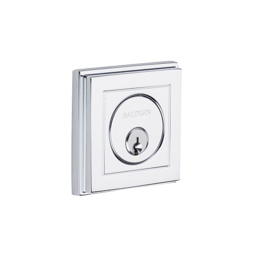 Polished Chrome Hollywood Hills Deadbolt