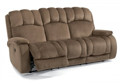 Huron Fabric Power Reclining Sofa