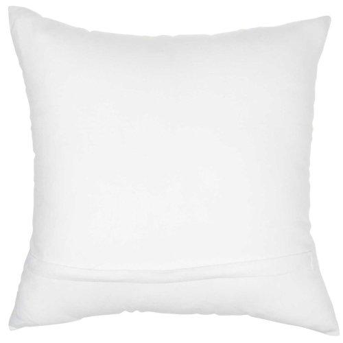 """Trendy, Hip, New-age Jb015 White 18"""" X 18"""" Throw Pillows"""