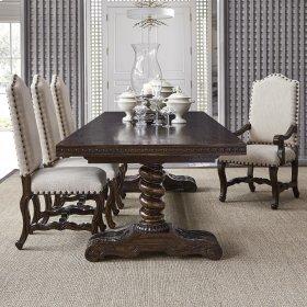 """Castilian Dining Table - 120"""""""