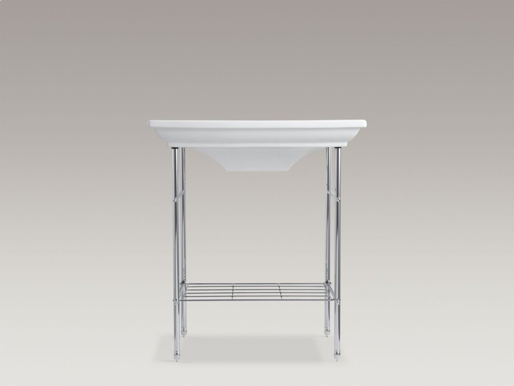 Hidden · Additional Vibrant Brushed Nickel Table Legs