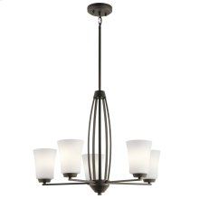 Tao Collection Tao 5 Light Chandelier OZ