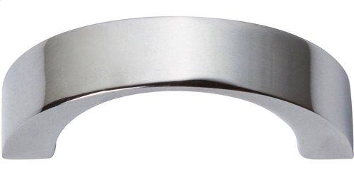Tableau Curved Handle 1 7/16 Inch - Polished Chrome