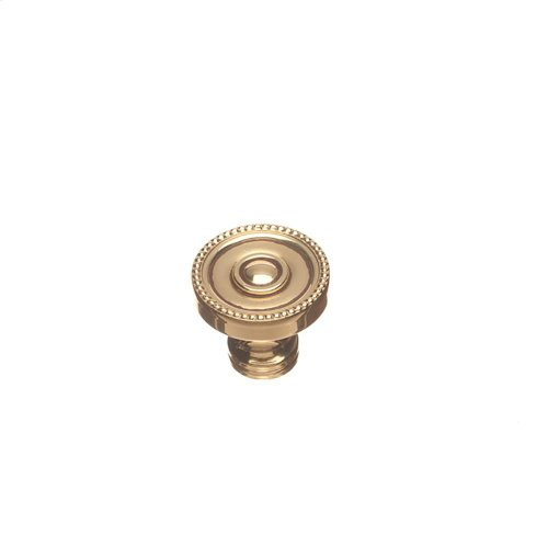 "1 1/4"" Knob - French Gold"
