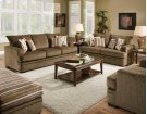 Cornell Cocoa Sofa and Loveseat Product Image