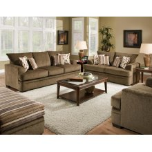 3650 Cornell Cocoa Sofa and Loveseat