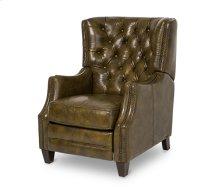 Rycote Leather Reclining Chair in Dark_Olive Espresso