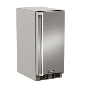 Marvel15-In Outdoor Built-In Clear Ice Machine with Door Swing - Right, Pump - Yes
