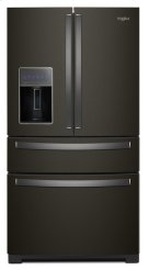 36-inch Wide 4-Door Refrigerator with Exterior Drawer - 26 cu. ft. Product Image