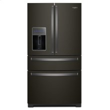 36-inch Wide 4-Door Refrigerator with Exterior Drawer - 26 cu. ft.
