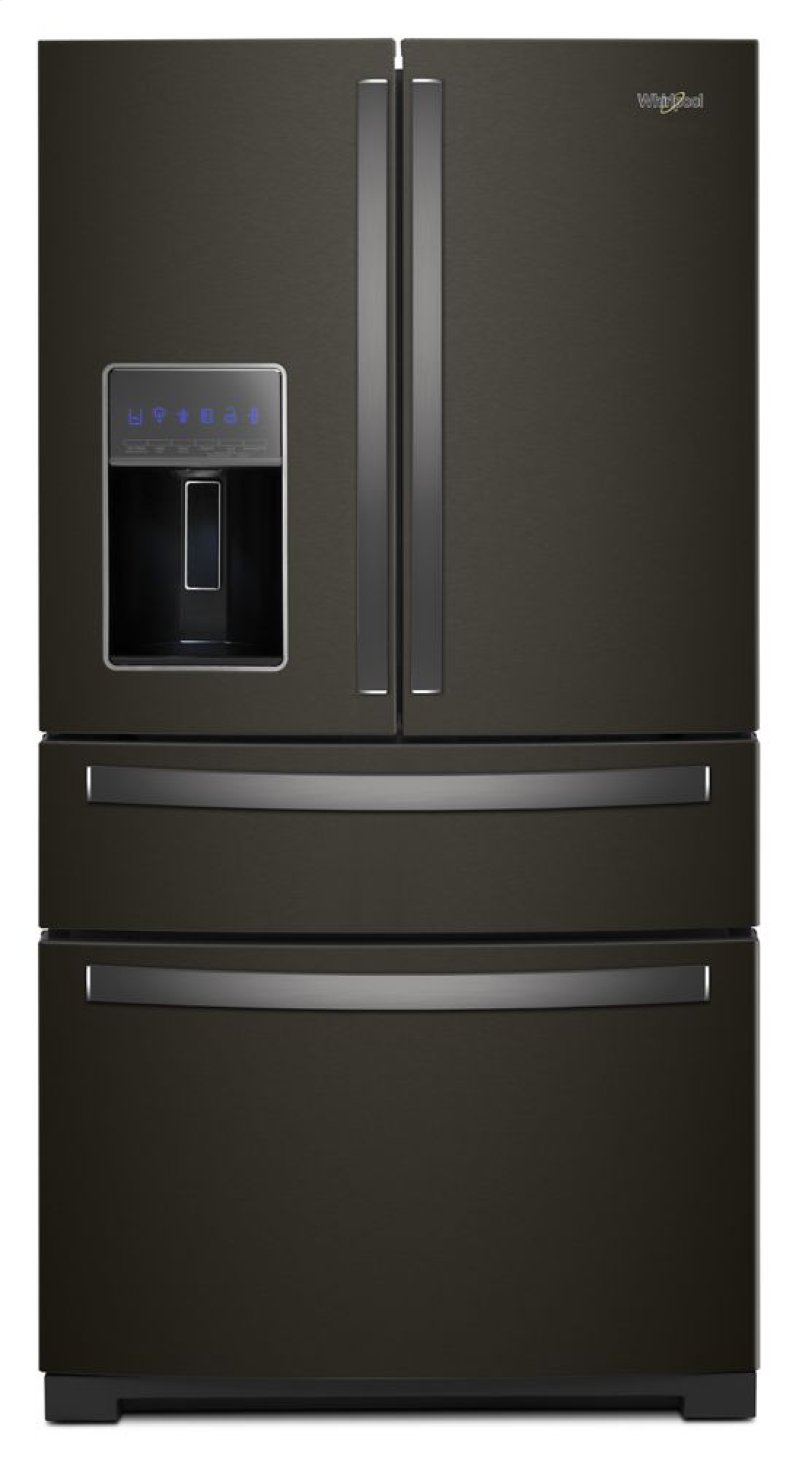 Wrx986sihv In Fingerprint Resistant Black Stainless By Whirlpool In