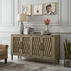 Liberty Furniture Industries  4 Door Accent Cabinet