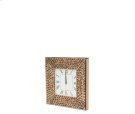 Montreal Square Wall Clock w/Crystal Accents Product Image