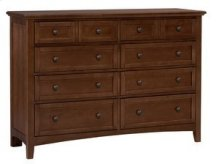 Cherry Triple Dresser