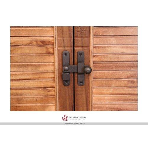 2 Drawer, 2 Door Server - Natural Finish