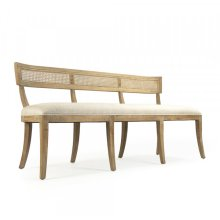 Carvell Cane Back Bench