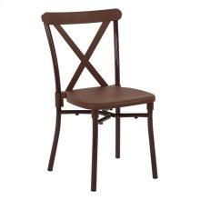 X-back Gues Stacking Chair 4-pack