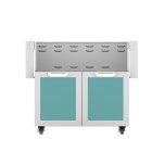 """Hestan36"""" Hestan Outdoor Tower Cart with Double Doors - GCD Series - Bora-bora"""