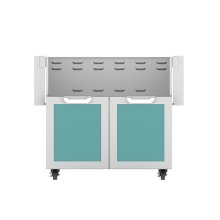 "36"" Hestan Outdoor Tower Cart with Double Doors - GCD Series - Bora-bora"