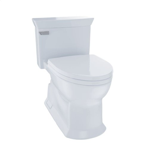 Eco Soiree® One Piece Toilet, 1.28 GPF, Elongated Bowl - Cotton