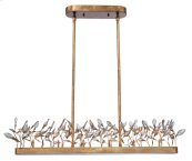 Crystal Garden 6-Light Linear Chandelier