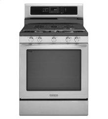 30-Inch 5-Burner Gas Freestanding Range, Architect® Series II - Stainless Steel