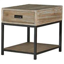 Parsons Rectangular End Table W/ Drawer