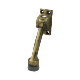 """4"""" Kickdown Holder - Antique Brass"""