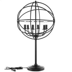 Atom Table Lamp in Black Product Image