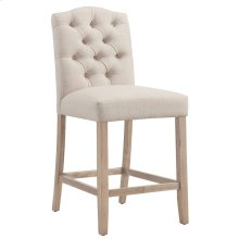 Lucian 26'' Counter Stool, set of 2, in Beige