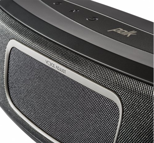Ultra-Compact Home Theater Sound Bar System in Black
