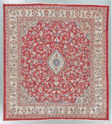 """MAHAL 000043722 IN RED IVORY 10'-7"""" x 11'-8"""""""