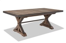 Taos Trestle Table with Storing Leaf