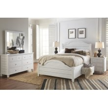 Chesapeake 3 Piece King Bedroom Set: Bed, Dresser, Mirror