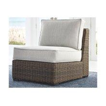 Armless Chair w/Cushion (1/CN)