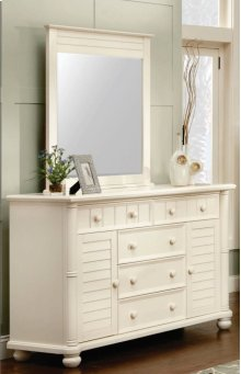CF-1700 Bedroom - Dresser and Mirror - Sunset Trading