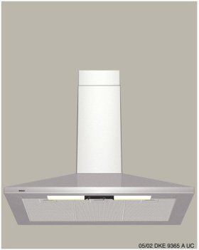 """36"""" Wall Mount Chimney Hood 300 Series - Stainless Steel (CLEARANCE 0804)"""