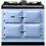 Duck Egg Blue  Dual Control 3-Oven All Electric