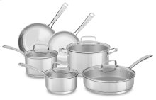 Stainless Steel 10-Piece Set - Polished Stainless Steel