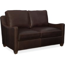Bradington Young Dalton Stationary Loveseat 8-Way Tie 636-75