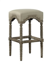 Backless Castle Bar Stool