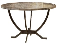 Monaco Round Dining Table Base - Ctn A - Matte Espresso
