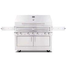 K1000HT Hybrid Fire Freestanding Grill
