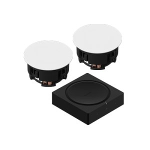SonosBlack- In-Ceiling Set
