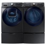 7.5 Cu. Ft. Smart Electric Dryer With Multisteam(tm) In Black Stainless Steel