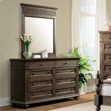 Cassidy - Eight Drawer Dresser - Aged Cask Finish