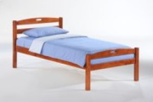 Sesame Bed in Cherry Finish
