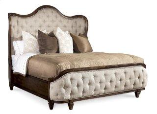 Continental Queen Shelter Bed - Vintage Melange