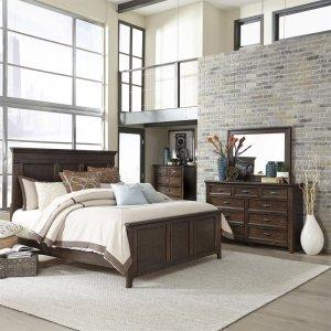 Liberty Furniture IndustriesQueen Panel Bed, Dresser & Mirror, Chest